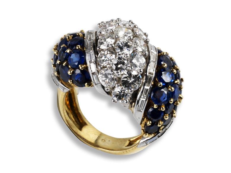 Bombé Ring