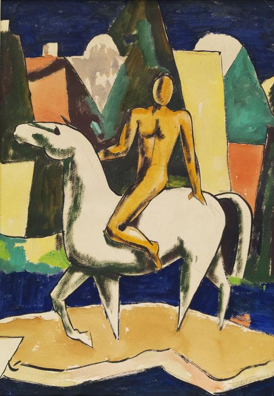 Russischer Maler der ersten Hälfte des 20. Jahrhunderts