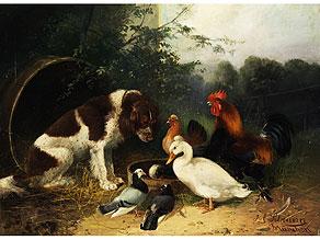 Detail images:  Julius Scheuerer, 1859 München - 1913 Planegg