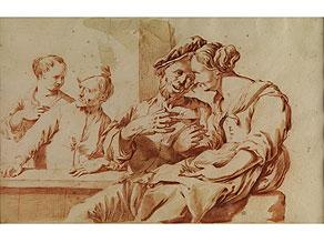 Detail images:  Jacob van Toorenvliet, 1635 Leiden - 1719