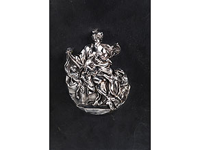 """Detailabbildung: Relief-Figurengruppe, Allegorie der """"Caritas"""""""