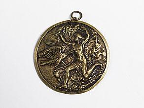 Detail images:  Bronzeplakette