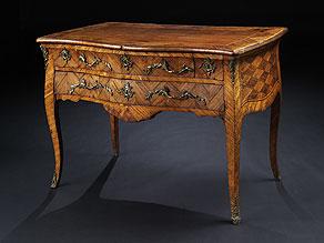 Detail images:  Elegante Schreibtischkommode