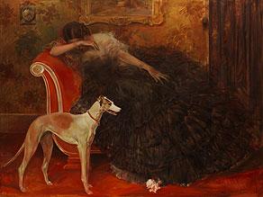 Detail images:  Karel van Bulle, Maler des beginnenden 20. Jahrhunderts