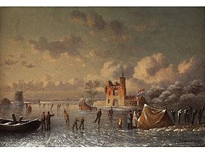Detail images:  Holländischer Maler des 19. Jahrhunderts