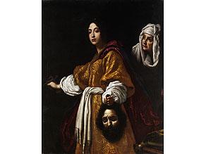Detail images:  Italienischer Maler des 17. Jahrhunderts nach Christofano Allori, 1577 - 1621