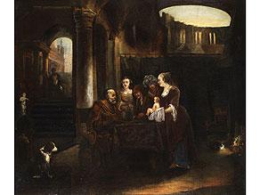 Detail images:  Aert van der Neer, 1603 - 1677