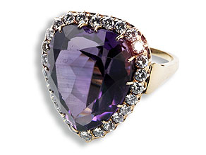 Detail images:  Amethyst-Ring