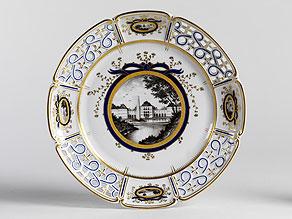 Detail images:  Serviceteil nach dem Service, das für König Ludwig III. und Königin Marie-Therese 1916 entstanden ist