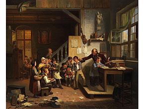Detail images:  Constant de Surgeloose Belgischer Maler des 19. Jahrhunderts
