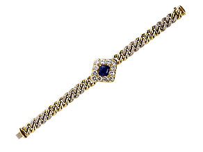 Detail images:  Gelbgold-Armband