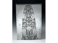 Detail images: Stichplatte für eine Lanzenspitze