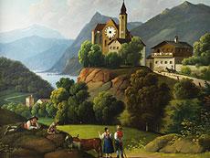 Detail images: Bilderuhr