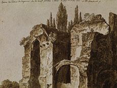 Detail images: Jacob Philipp Hackert, 1737 Prenzlau - 1807 Florenz