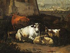Detailabbildung: Johannes van der Bent, 1650 Amsterdam - 1690