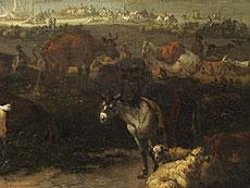 Detail images: Johannes van der Bent, 1650 Amsterdam - 1690