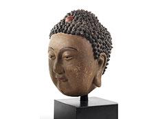 Detail images: Buddhakopf