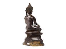 Detail images: Sitzender Buddha in Bronze