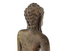 Detail images: Große Buddhafigur in Stein