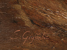Detail images: Ercole Gigante, 1815 - 1860