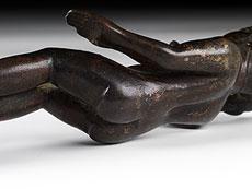 Detail images: Ägyptische Bronzefigur des Harpokrates