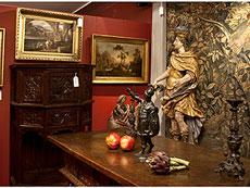 Detail images: Paar venezianische Tischkerzenleuchter