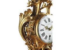 Detail images: Französische Louis XV-Kartelluhr