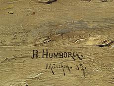 Detail images: Adolf Humborg, 1847 Oravicabanya/ Ungarn