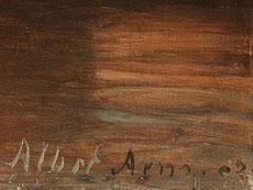 Detail images: Albert Arnz, 1832 Düsseldorf - 1914