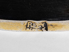 Detail images: Silberner Messkelch