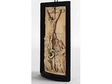 Detailabbildung: Elfenbein-Relieftafel