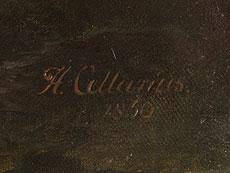 Detail images: Hermann Wilhelm Cellarius, 1815 Aurich/ Ostfriesland - 1867 Leipzig