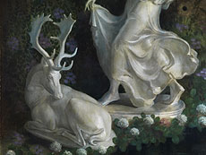 Detail images: Karel Brockman, Holländischer Maler des 20. Jahrhunderts