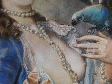 Detail images: Pastellportraitist R. C.