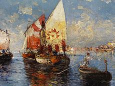 Detail images: A. Defort, Maler des 20. Jahrhunderts