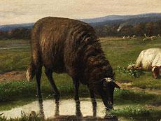 Detail images: Louis Pierre Verwee, 1807 - 1877