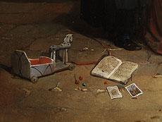 Detail images: Paul Haesaert, 1813 Leuven - 1893 Werke seiner Hand in den Museen in Brüssel und Leuven