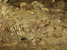 Detail images: Wilhelm Velten, 1847 St. Petersburg - 1929 München