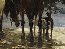 Detail images: Alfred von Wierusz-Kowalski, 1849 Suwalki - 1915 München