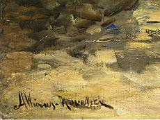 Detailabbildung: Alfred von Wierusz-Kowalski, 1849 Suwalki - 1915 München