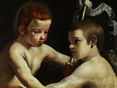 Detail images: Guido Cagnacci, 1601 - 1663