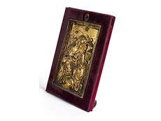 Detail images: Relieftafel mit Darstellung der Maria Magdalena
