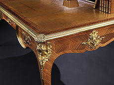 Detail images: Bureau Plat im Stil des 18. Jahrhunderts