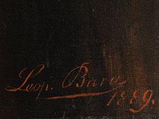 Detail images: Leopold Bara, 1846 Wien, Schüler der Wiener Akademie unter Feuerbach