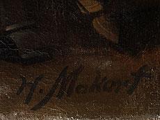 Detail images: Hans Makart, 1840 Salzburg - 1884 Wien