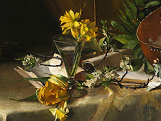Detail images: Carl Moll, 1861 Wien - 1945