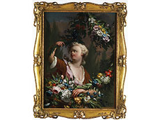 Detail images: Carle Van Loo, 1705 Nizza - 1765 Paris