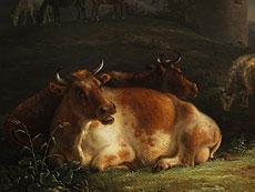 Detail images: Jean Baptist de Roy, 1759 Brüssel - 1839, Maler im Kreis von Verboeckhoven