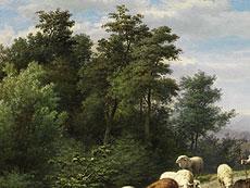 Detail images: Jan Frederik Pieter Portielje, 1829 - 1908, und Franz Lebret, 1820 – 1909