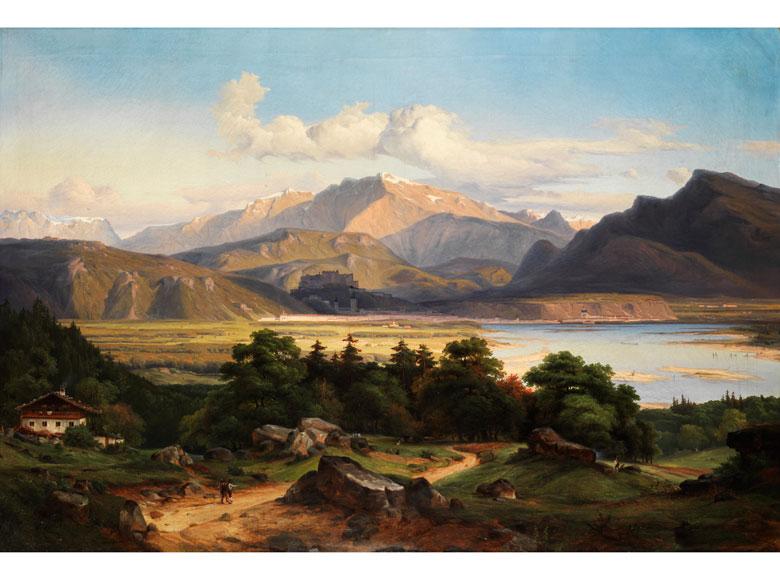 Georg Heinrich Crola, 1804 Dresden - 1879 Ilsenburg am Harz